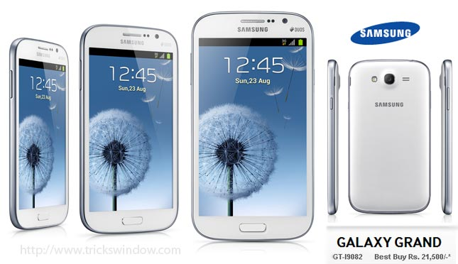 Samsung Galaxy Grand Duos Hands
