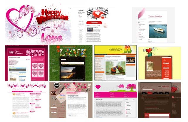 10 Valentine's Day WordPress Themes