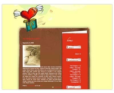Love fly 1.0 WordPress Theme
