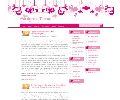 Love Knot 1 WordPress Theme