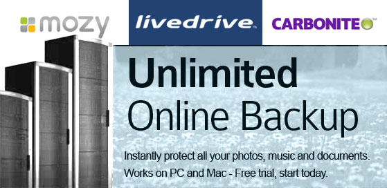 Cost Effective Online Backup Services