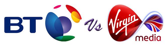 BT And Virgin Media Broadband Package