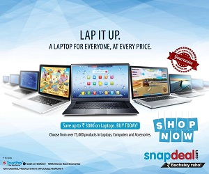 Snapdeal Shop Now